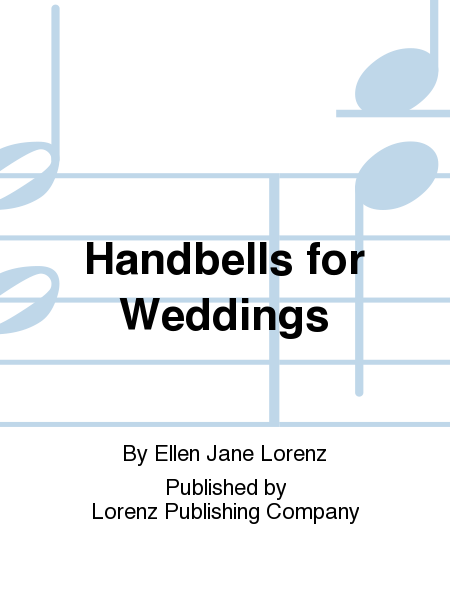 Cover of Handbells for Weddings