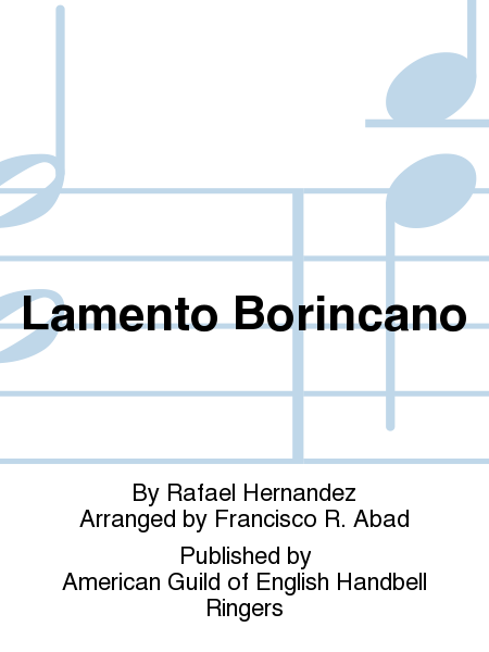 Cover of Lamento Borincano