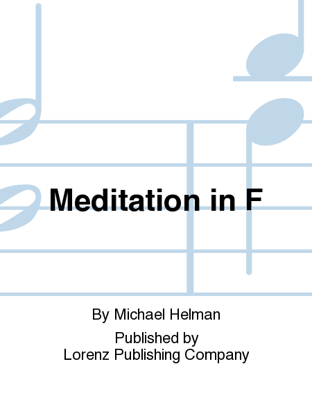 Cover of Meditation in F