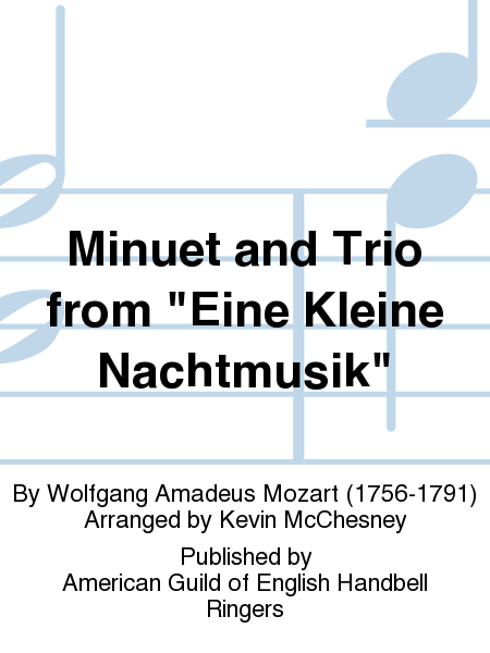 "Cover of Minuet and Trio from ""Eine Kleine Nachtmusik"""