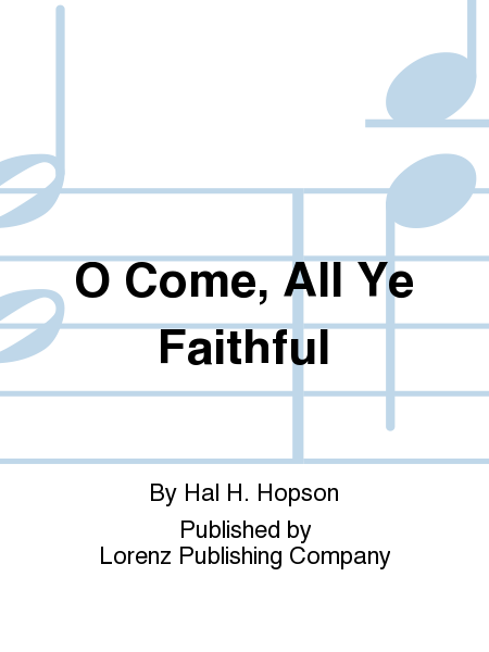 Cover of O Come, All Ye Faithful