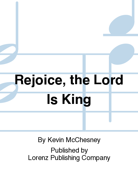 Cover of Rejoice, the Lord Is King