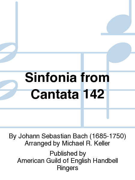 Cover of Sinfonia from Cantata 142