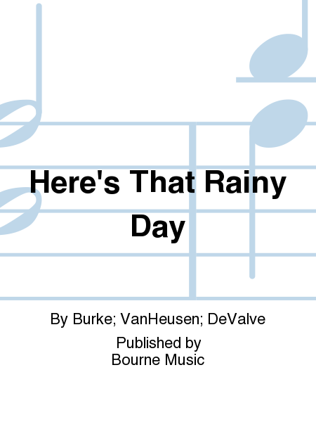 Cover of Here's That Rainy Day