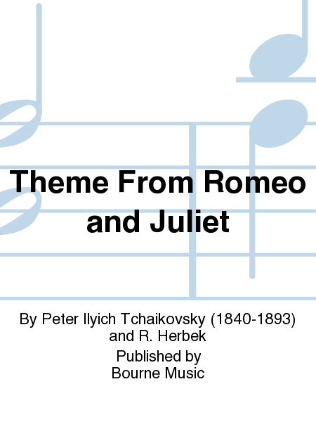 Cover of Theme From Romeo and Juliet