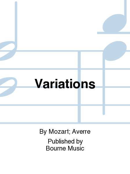 Cover of Variations