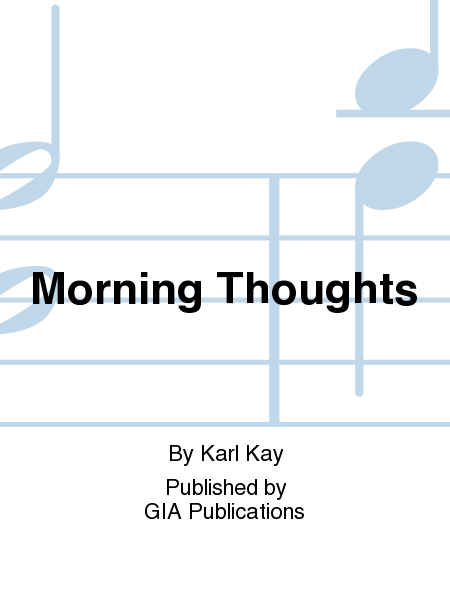 Cover of Morning Thoughts