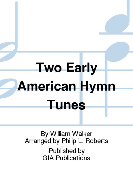 Cover of Two Early American Hymn Tunes