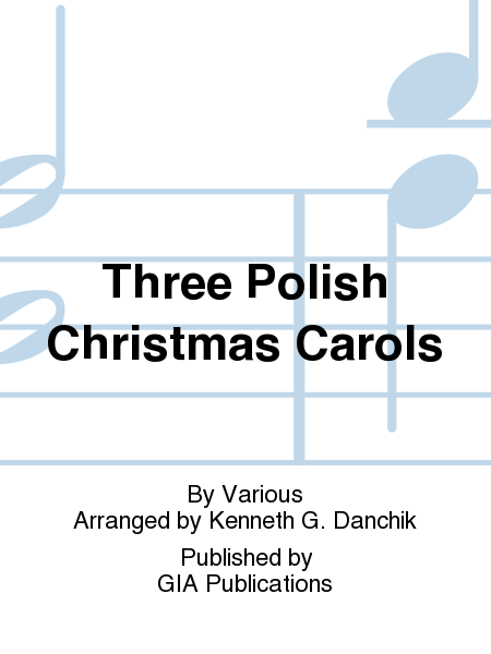 Cover of Three Polish Christmas Carols