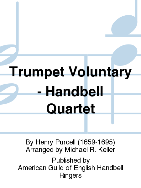 Cover of Trumpet Voluntary - Handbell Quartet