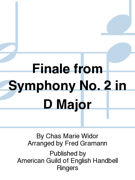 Cover of Finale from Symphony No. 2 in D Major