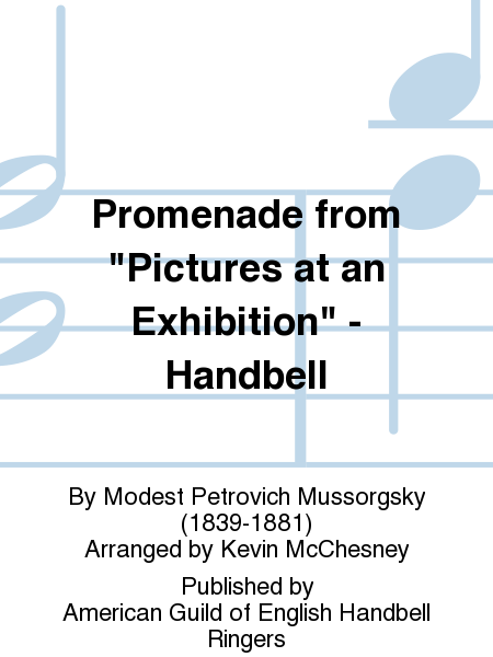 "Cover of Promenade from ""Pictures at an Exhibition"" - Handbell"