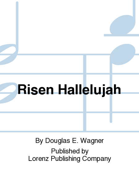 Cover of Risen Hallelujah