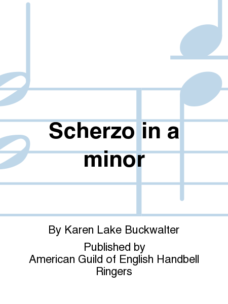 Cover of Scherzo in a minor
