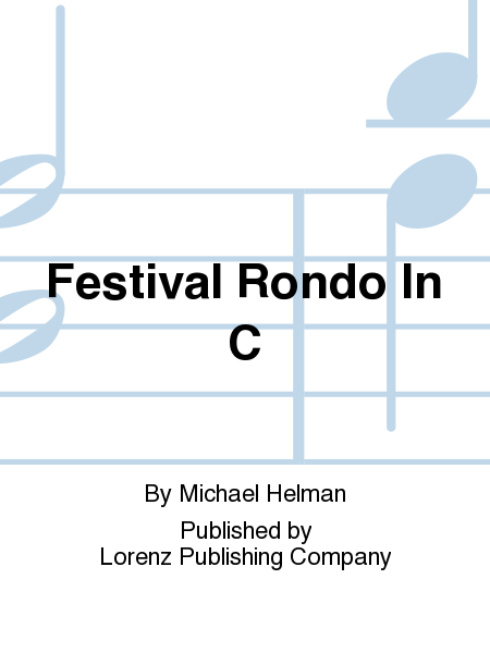 Cover of Festival Rondo In C