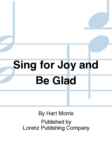 Cover of Sing for Joy and Be Glad