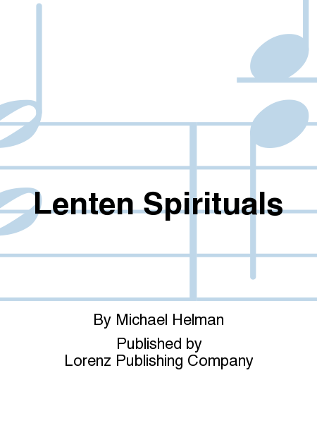 Cover of Lenten Spirituals