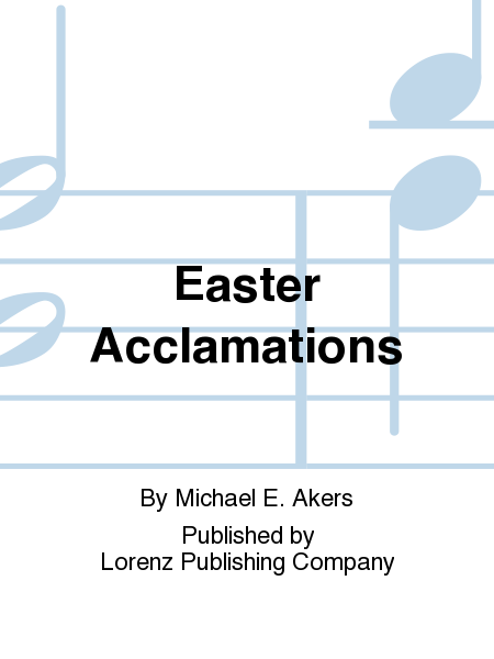 Cover of Easter Acclamations