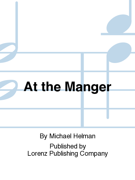 Cover of At the Manger