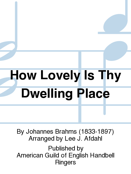 Cover of How Lovely Is Thy Dwelling Place