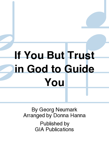 Cover of If You but Trust in God to Guide You