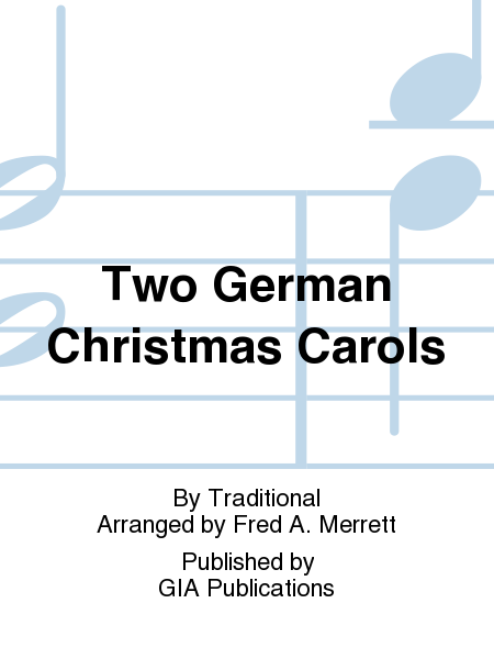 Cover of Two German Christmas Carols