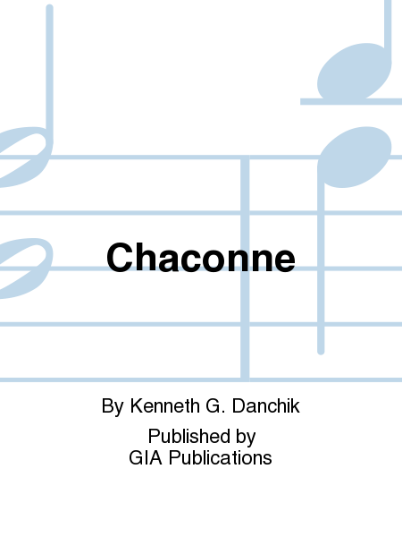 Cover of Chaconne