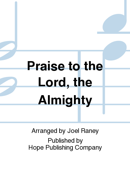 Cover of Praise to the Lord, the Almighty