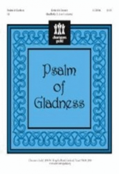 Cover of Psalm of Gladness